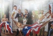 Mi Puerto Rico / Inspiration for unnamed story set in Puerto Rico. Excerpts from the story are in quotes among the pictures that inspired the scenes. Information and photos of Puertorican culture and history. / by Saritza Hernandez