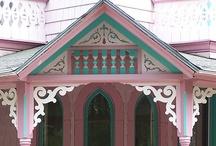 Painted Ladies - Victorian Houses- Magical Homes / by Debbie Klinzing