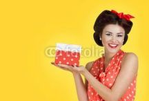 Pin-Up / by Fotolia