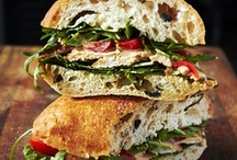 Sandwiches/ Burger's/ Finger Food & Wrap's / Easy healthy foods / by Eva Marie