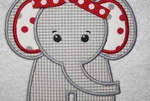 APPLIQUE IT! / Cute appliques to adorn little outfits and quilts maybe! / by Audrey Wallace-Wells