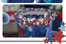 Red, White, and Blue...Patriotic Everything / Food, Decor, and Everything Else Red, White, and Blue for Memorial Day, 4th of July, Labor Day, Flag Day, and any other Patriotic Holidays! Find patriotic recipes, patriotic decor, and more!