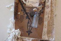handmade fabric books / by Twocooltexans