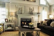 Modern and Traditional Sittin' in a Tree / Modern + traditional = transitional. It marries comfortable and warm with clean and traditional.