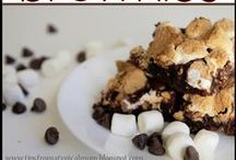 S'mores / All kinds of chocolatey, marshmallowy, graham cracker-y goodness! Find tons of great S'mores recipes here!