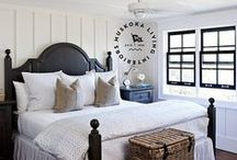 Cozy Cottage Inspirations / Inspired by cottage charm, this cozy space is pretty, practical and peaceful.