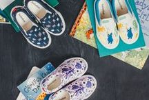 Kids Style / Artist-designed shoes for kids.   / by BucketFeet