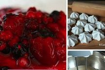 Fruit Desserts / Pies, tartes, clafoutis, muffins, cookies, cakes - any dessert recipe with fruit!
