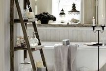 Bathroom Ideas / Small Bathrooms With Big Touch's / by Eva Marie