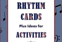 Music Rhythm / Rhythm worksheets, activities and games for the music classroom.  ♫  Join the Resource Library for FREE music worksheets and ideas: http://goo.gl/l0ZgXD