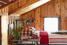 Your own rustic cabin / No need to sharpen your axe - we've done all the hard work for you. Inspired by hand hewn log furniture, a Boone Mountain living room will make even a lumberjack proud.