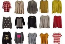 Capsule Wardrobe / A collection of wardrobe ideas for different occasions!