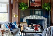 Red, White & Boom / Don't be afraid to mix in a little color. Check out our Americana style.  / by Sauder Furniture