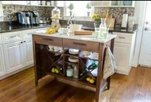 The Chic Entertainer / With a little help from the Carson Forge Gourmet Stand #PutTogether / by Sauder Furniture