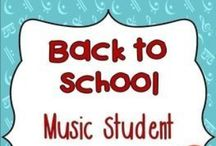 Back to School / Back to school printables, music activities, worksheets, ideas, hints, tips and ice-breakers for music teachers!  ♫  Join the Resource Library for FREE music worksheets and ideas: http://goo.gl/l0ZgXD