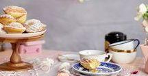 Tea Party / table setting, decor ideas, tea party, boho, chic, flowers, recipes, entertaining