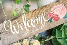 Wedding Planning / Inspiration for a Romantic, Rustic Wedding