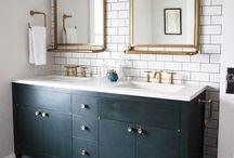 bathroom design / bathroom design inspiration