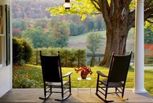 Entspannung A{u}f Der Veranda / For catching up.. for talkin' and relaxing on the porch.