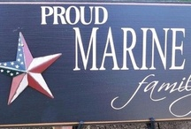 Proud mother of a MARINE~M.O.M / by Sandy Bassham