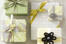 Ribbons, Tags, Packages, Boxes & Bags / presentation of a gift / by Heidi Darrington