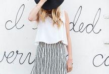 B L A C  K  & W H I T E style / black and white fashion