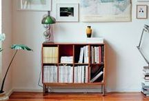 For the home. Bookcases.