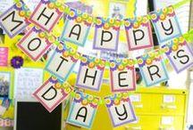 Mother's Day / Colección de ideas, tarjetas, regalos, HTM (DIY), frases, decoración, sorpresas y más para regalarle a tu mamá!