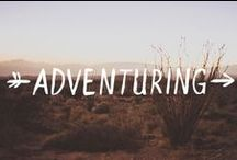 Adventure / road trip, walking, forest, mountains,  / by E. K.