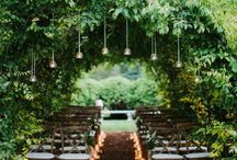 Weddings. Settings.