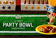 Ultimate Party Bowl / Take your Game Day party to the next level with these Ultimate recipes, tips, tricks, and decor ideas. Pin your own and enter for your chance to win $2,500 at UltimatePartyBowl.com - 02.01.2015  / by Monica Kim