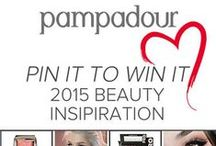 Pampadour 2015 Beauty Inspiration / Kick 2015 off right with Pampadour's first #PinItToWinIt giveaway! We're giving a $250 gift card to whoever creates the most beautiful, inspring Pinterest board, using repinned images from Pampadour's many boards. For official rules, click here: pampadour.com/... #giveaway #makeup #beauty #pampadour - 02.14.2015  / by Monica Kim