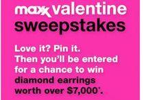 Maxx Valentine Sweepstakes / Maxx Valentine Sweepstakes - 02.15.2015 / by Monica Kim