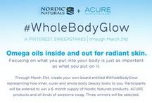 #WholeBodyGlow / What is your approach to achieving the #WholeBodyGlow? Enter our Pinterest Sweepstakes and create your own Whole Body Beauty board! nordicnaturals.ap...- 03.31.2015  / by Monica Kim
