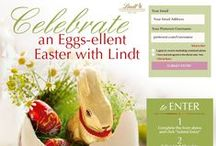 EGGS-ELLENT EASTER / Sweeten your Easter celebration with smooth melting Lindt LINDOR Eggs. Click the link in profile and enter to win Lindt Easter chocolates! - 04.05.2015  / by Monica Kim