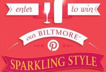 Biltmore Sparkling Style 2015 / Inspired by Pas de Deux Moscato - Semi-sweet and bursting with tiny bubbles, this aromatic wine features the essence of orange blossom and flavors of wild strawberry and lemon || bubbly, sweet, and sassy -- 03.31.2015  / by Monica Kim