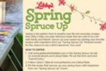 Libby's Spring Spruce Up / Spring Spruce Up - 03.27.2015  / by Monica Kim