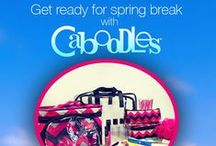 Spring Break with Caboodles / #SpringBreak2015 #CaboodlesSB - 04.03.2015 / by Monica Kim