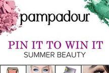 Pampadour Summer Beauty / Pampadour's back with a new #PinItToWinIt giveaway! We're giving a $250 gift card to whoever creates the most beautiful, inspiring Pinterest board, using repined images from Pampadour's many boards. For official rules, click here: http://blog.pampadour.com/pampadour-pin-it-to-win-it-giveaway/ #pampadour -- 08.17.2015  / by Monica Kim