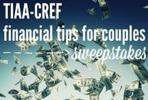 TIAA-CREF Financial Tips for Couples Sweepstakes / A promotional board containing helpful tips on investing, budgeting and saving money! Sponsored by TIAA-CREF, but pins are curated at my own discretion. Enter the Playdough to Plato Financial Tips for Couples Sweepstakes Sponsored by TIAA-CREF for the chance to win $1,000 here: http://woobox.com/mvaz68 -- 07.31.2015  / by Monica Kim