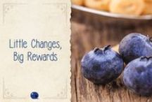 Little Changes for the Holidays / Get inspired this holiday with blueberries! Make a board and you could win $500 to create your own delicious holiday meal. #LittleChanges #Sweepstakes Copy this link to enter: http://bit.ly/1kYSpAt -- 12.16.2015  / by Monica Kim