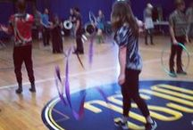 Streamer Dancing / Flowing and colorful streamers and ribbons!  Creating beautiful effects. / by Twirl Planet