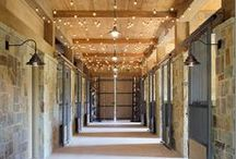 Beautiful Horse Barns and Tack Rooms / Gorgeous equestrian  barns and tack rooms from around the world