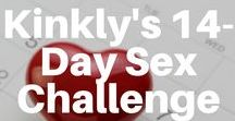 Kinkly's 14-Day Sex Challenge / A big part of keeping your sex life hot and healthy has to do with learning more about yourself, learning more about your partner and just making an effort. Take the challenge!