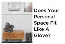 Does Your Personal Space Fit You Like a Glove? / Well, it should.  Interior Design is a wonderful way to express yourself. Wouldn't it be awesome when you come home it feels like your house gives you a welcome home hug? Planning your space can do just that!  / by Windermere MI