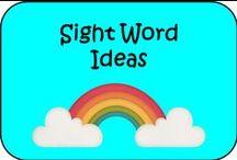 Sight Word Ideas