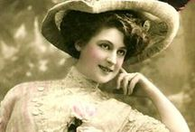 Ladies of Elegance / Pictures of ladies of yesteryear in elegant garments / by Zina