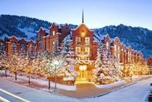 St. Regis Aspen / Legendary address, captivating by nature.  The St. Regis Aspen is the world's leading mountain experience boasting the celebrated Remede Spa and Chefs Club by FOOD & WINE.