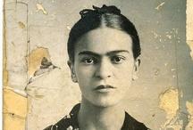 .artist: Kahlo. / by Karolina Subrtova