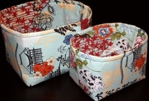 Fabric Boxes, Baskets & Organizers